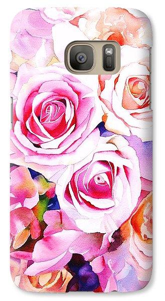 Rose Galaxy S7 Case - Cascade by Sarah Bent