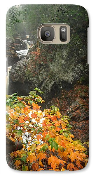 Galaxy Case featuring the photograph Cascading Steps by James Peterson