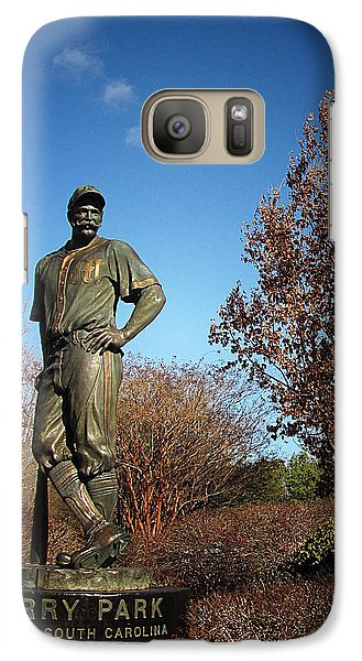 Galaxy Case featuring the photograph Casey Waits For Spring by Greg Simmons