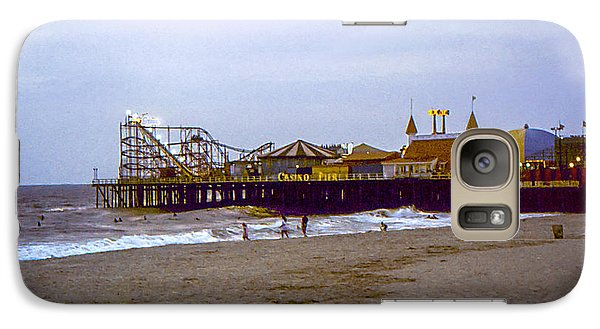 Galaxy Case featuring the photograph Casino Pier Boardwalk - Seaside Heights Nj by Glenn Feron