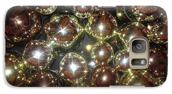 Galaxy Case featuring the photograph Casino Sparkle Interior Decorations by Navin Joshi