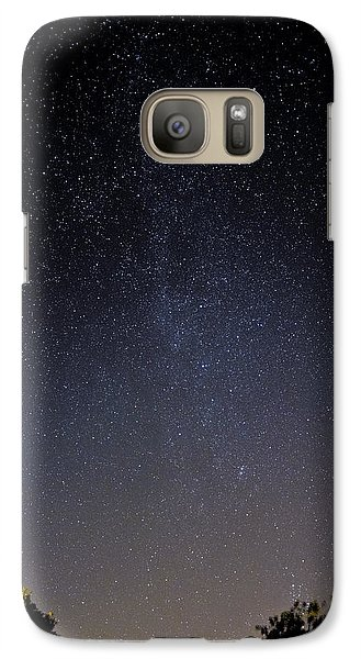 Galaxy Case featuring the photograph Cassiopeia And Andromeda Galaxy 01 by Greg Reed