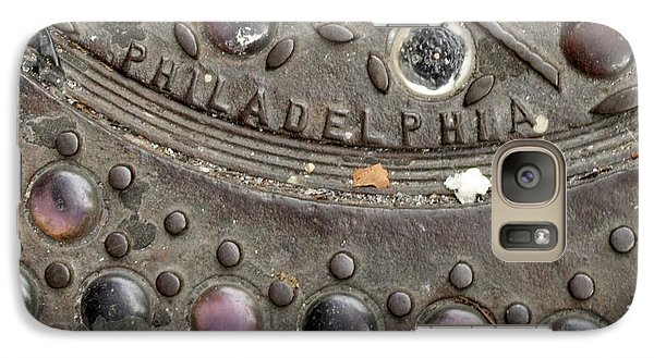 Galaxy Case featuring the photograph Cast Iron Philadelphia by Christopher Woods