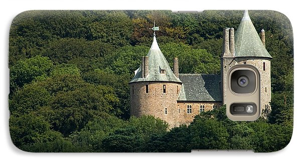Galaxy Case featuring the photograph Castell Coch by Jeremy Voisey
