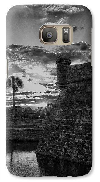 Galaxy Case featuring the photograph Castillo De San Marcos by Kathy Ponce