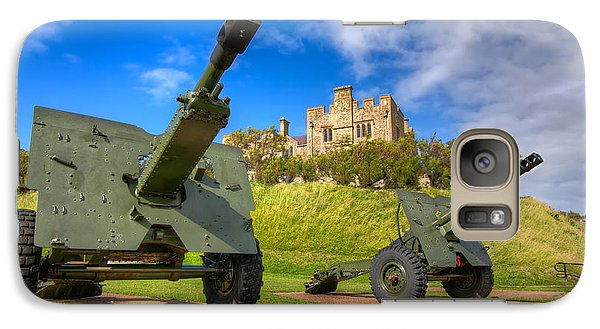 Galaxy Case featuring the photograph Castle Cannons by Tim Stanley