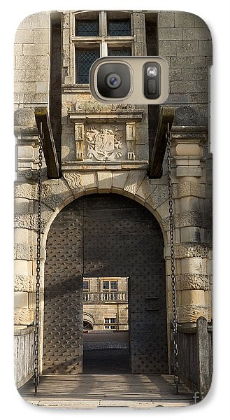 Galaxy Case featuring the photograph Castle Drawbridge Entry by Paul Topp