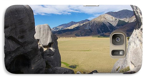 Galaxy Case featuring the photograph Castle Hill #5 by Stuart Litoff