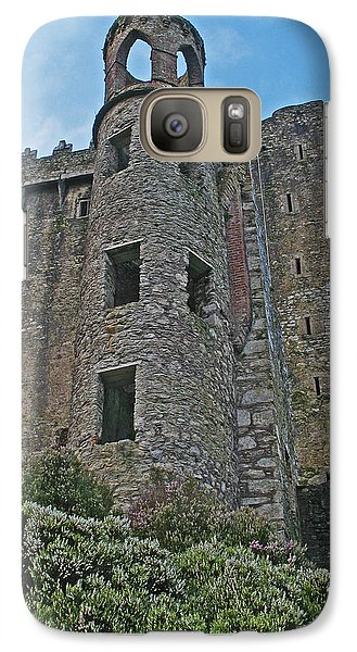 Galaxy Case featuring the photograph Castle In The Sky by Kathleen Scanlan