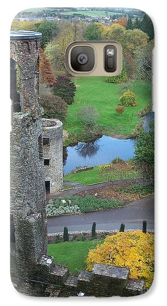 Galaxy Case featuring the photograph Castle Keep by Marilyn Zalatan
