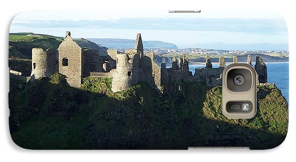 Galaxy Case featuring the photograph Castle Ruins by Marilyn Zalatan