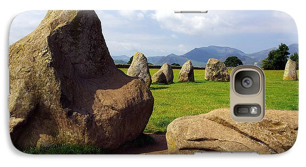Galaxy Case featuring the photograph Castlerigg England by Graham Hawcroft pixsellpix