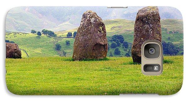 Galaxy Case featuring the photograph Castlerigg Keswick England by Graham Hawcroft pixsellpix