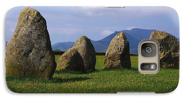 Galaxy Case featuring the photograph Castlerigg Keswick by Graham Hawcroft pixsellpix