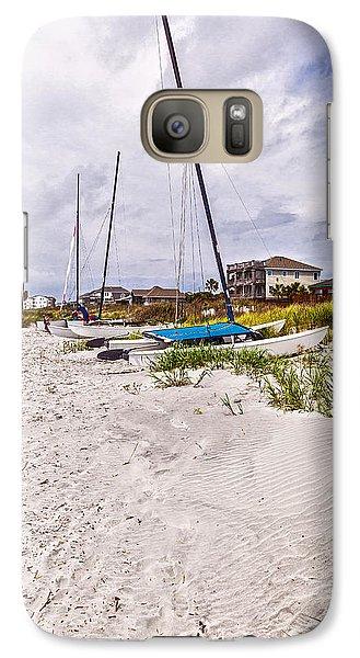 Galaxy Case featuring the photograph Catamaran by Sennie Pierson