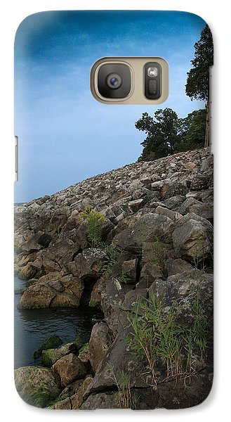 Galaxy Case featuring the photograph Catawba Point Shoreline by Terri Harper