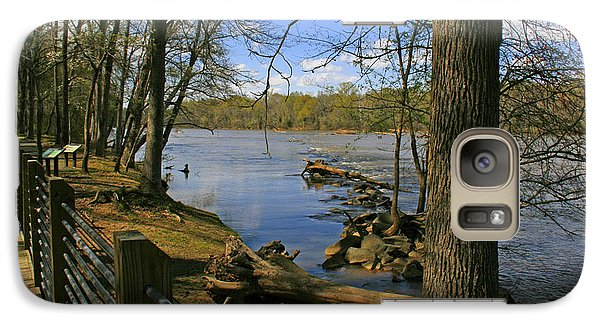 Galaxy Case featuring the photograph Catawba River Walk by Andy Lawless