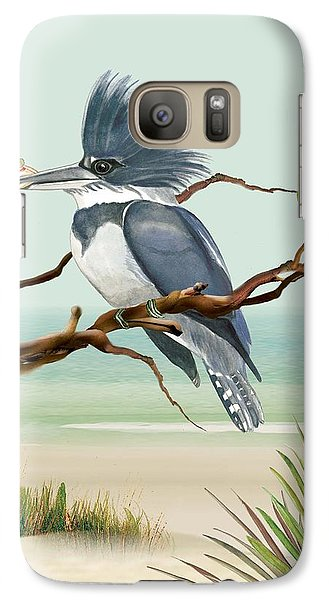 Galaxy Case featuring the painting Catch Of The Day by Anne Beverley-Stamps