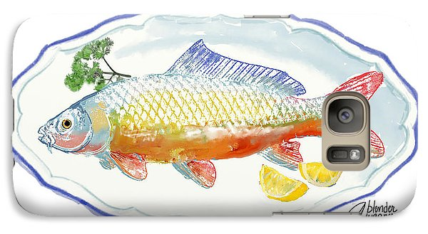 Galaxy Case featuring the digital art Catch Of The Day by Arline Wagner
