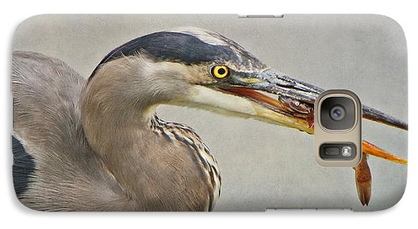 Galaxy Case featuring the photograph Catch Of The Day by Heather King