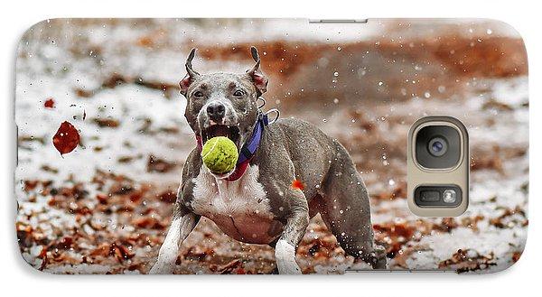 Tennis Galaxy S7 Case - Catch The Ball. by Davorin Volav?ek