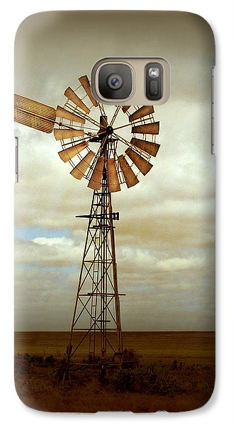Rural Scenes Galaxy S7 Case - Catch The Wind by Holly Kempe