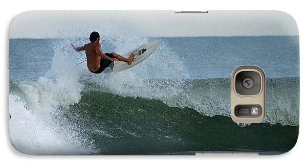 Galaxy Case featuring the photograph Catching Air by Greg Graham