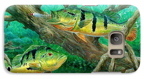 Catching Peacock Bass - Pavon Galaxy S7 Case