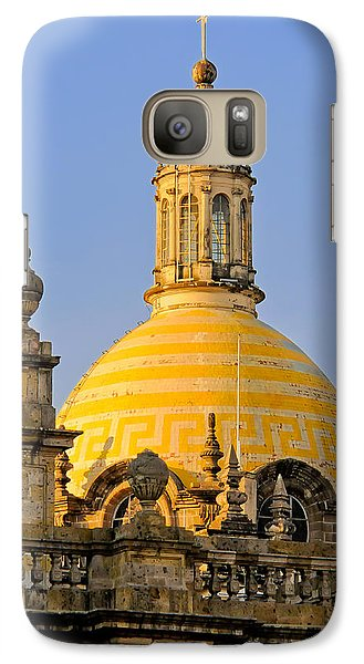 Galaxy Case featuring the photograph Catedral De Guadalajara by David Perry Lawrence