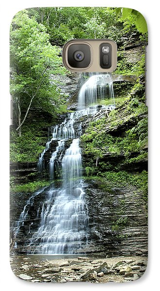 Galaxy Case featuring the photograph Cathedral Falls by Robert Camp