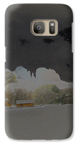 Galaxy Case featuring the photograph Cathedral Glistens by Tom Kelly