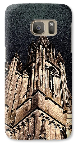 Galaxy Case featuring the photograph Cathedral In The Sky by Mary Bedy