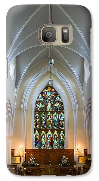 Galaxy Case featuring the photograph Cathedral Interior by Jane McIlroy