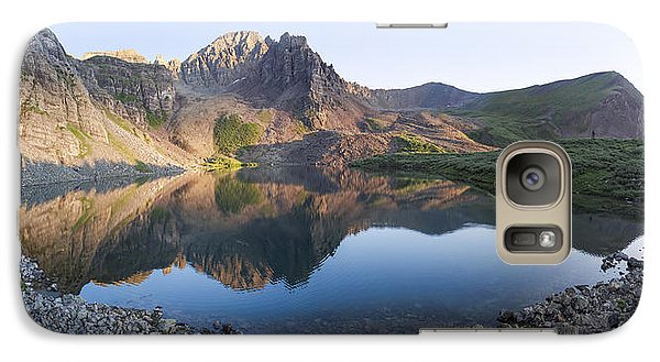 Cathedral Lake Reflection Galaxy S7 Case