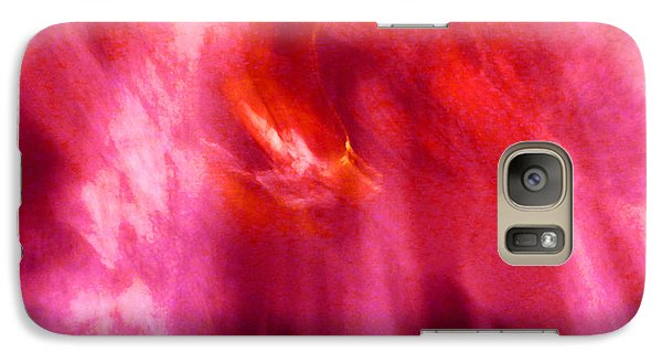 Galaxy Case featuring the digital art Cathedral Of Fire And Light by Menega Sabidussi