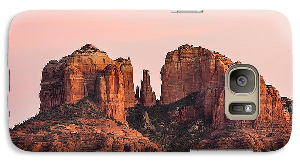 Cathedral Rock Sunset Galaxy S7 Case
