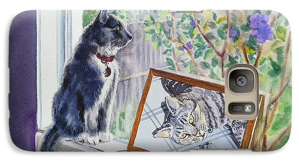 Cats And Mice Sweet Memories Galaxy Case by Irina Sztukowski