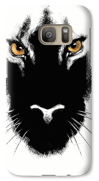 Galaxy Case featuring the digital art Cat's Eyes by Aaron Blaise