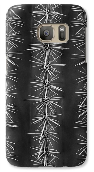 Galaxy Case featuring the photograph Catus Needles by Glenn DiPaola