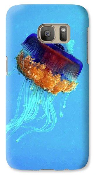 Cauliflower Jellyfish Galaxy Case by Louise Murray