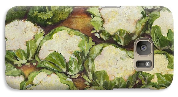 Cauliflower March Galaxy Case by Jen Norton