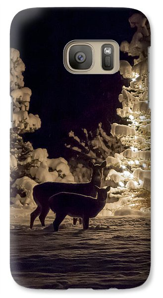 Galaxy Case featuring the photograph Cautious by Aaron Aldrich