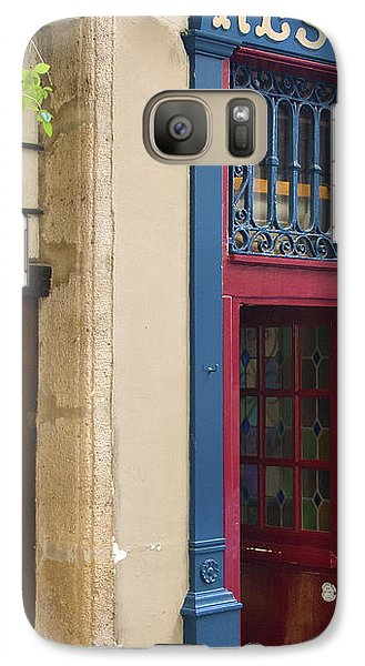 Galaxy Case featuring the photograph Cave A Vins by Victoria Harrington