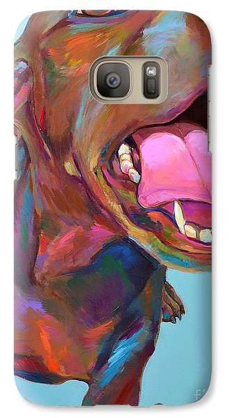 Galaxy Case featuring the painting Cay by Robert Phelps