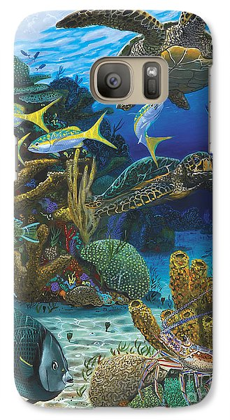 Cayman Turtles Re0010 Galaxy S7 Case by Carey Chen