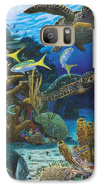 Cayman Turtles Re0010 Galaxy Case by Carey Chen
