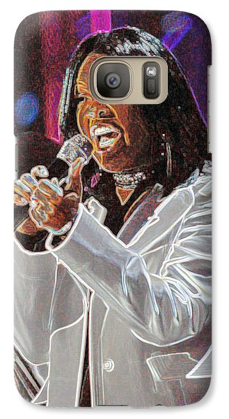 Galaxy Case featuring the photograph Cece Winans by Don Olea