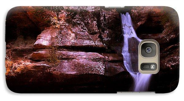 Galaxy Case featuring the photograph Cedar Falls by Haren Images- Kriss Haren
