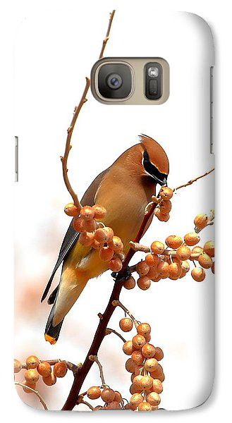 Cedar Wax Wing Galaxy Case by Floyd Tillery
