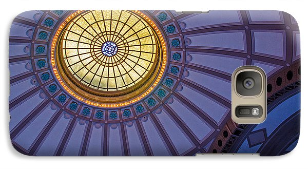 Galaxy Case featuring the photograph Ceiling In The Chattanooga Choo Choo Train Depot by Susan  McMenamin